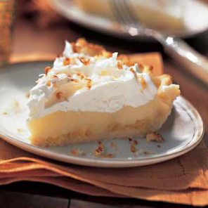 "That's how you get the ""Cream"" in Coconut Cream Pie"