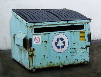 Did you mean Baby Blue Dumpster? Close enough, Google.