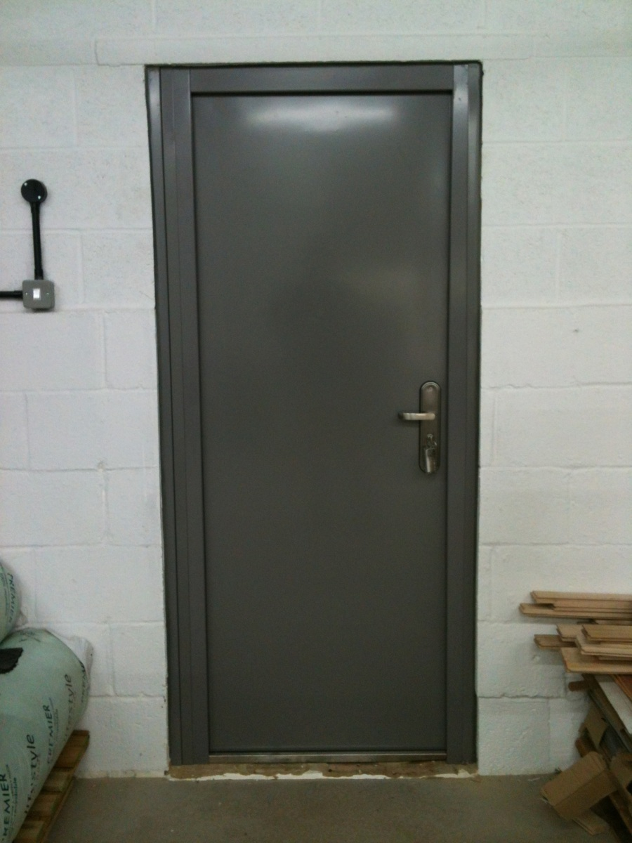 Grey-Steel-Door